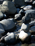 River Rocks, stock photo