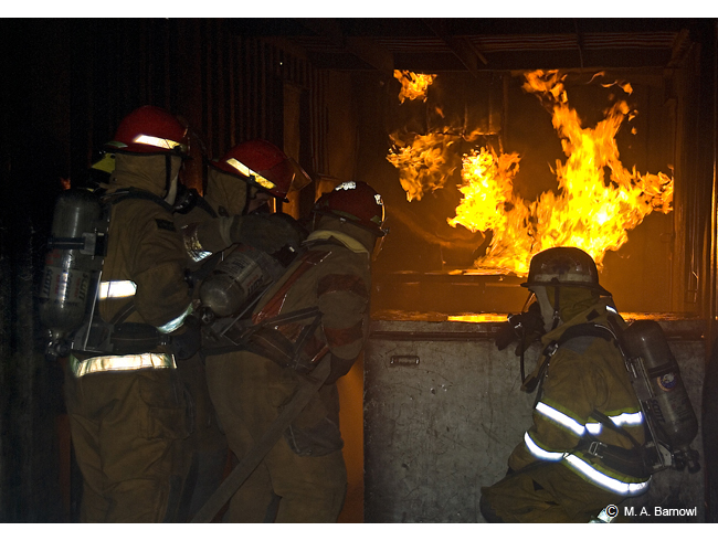 Marine Firefighting Training