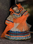 Mexican Cornhusk Dancer, stock photo