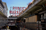 Pike Place Market, stock photo